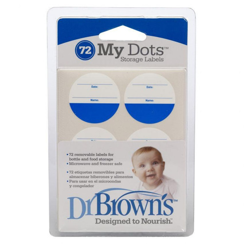 etiquetas de almacenamiento dr brown's d0785
