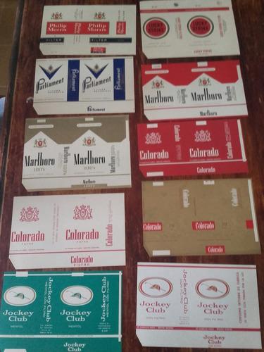 etiquetas de cigarrillos nuevas..