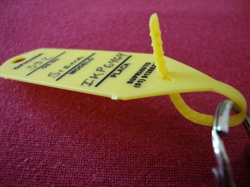 etiquetas de identificação de chaves para oficinas - 300 un