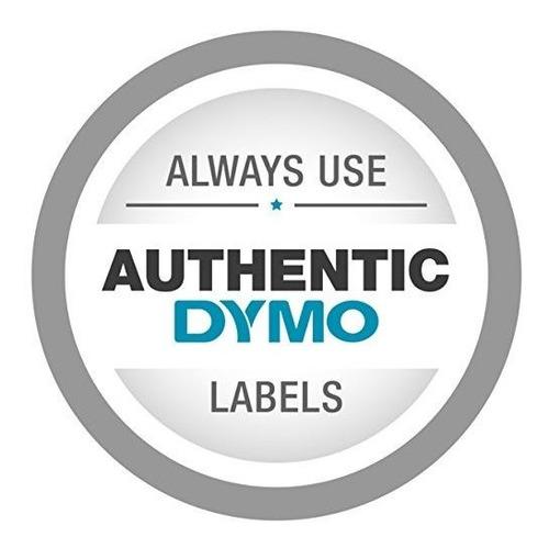 etiquetas de superficie plana permanente dymo para etiquetad