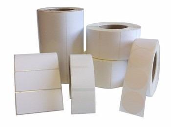 etiquetas en rollos blancas y pre impresas