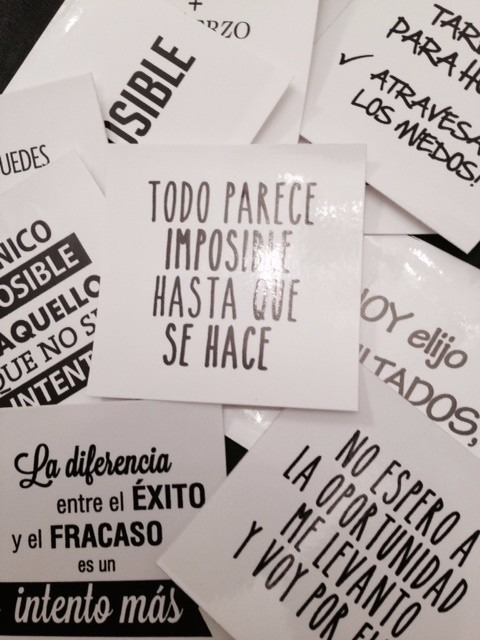 Etiquetas En Vinilos Frases Motivacionales 6 5x6 5 Cm