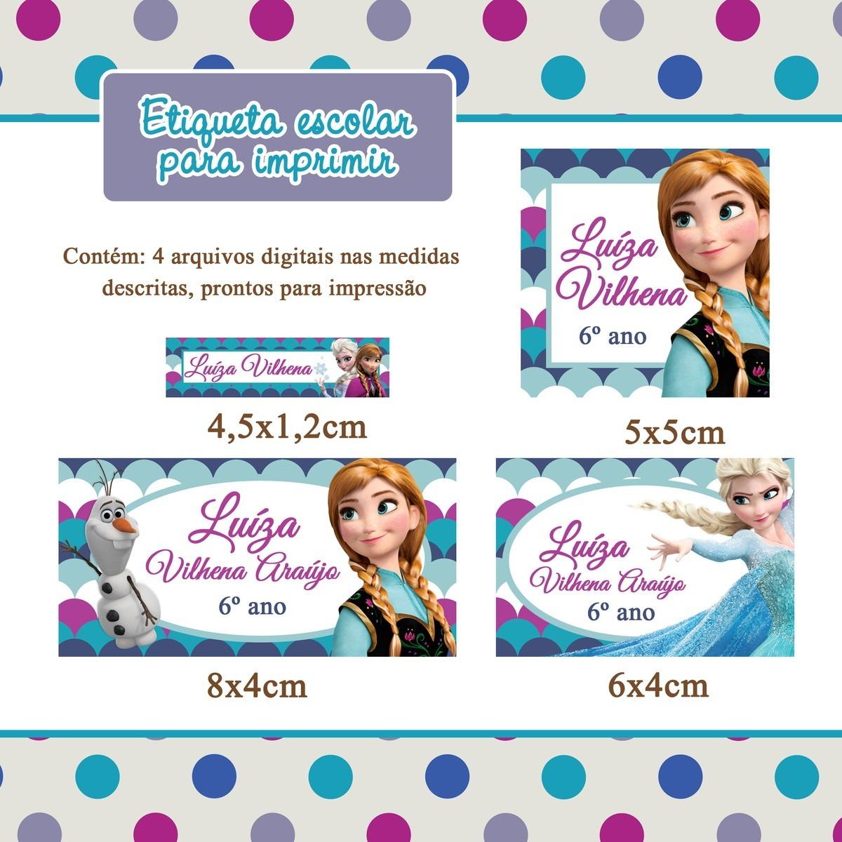 Etiquetas escolares para imprimir personalizadas r 15 for Medidas de mobiliario escolar inicial