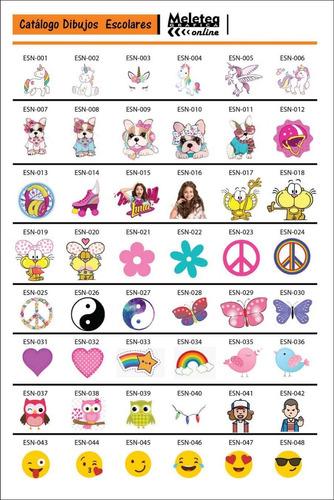 etiquetas escolares utiles colegio stickers super combo!!!