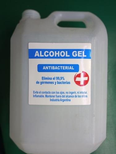 etiquetas genéricas de alcohol en gel para bidón x 100 unid.