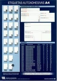 etiquetas husares h34216 a4 (99x33.9) x 400 unid