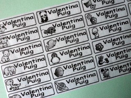 etiquetas o grifas termoadherentes con dibujos