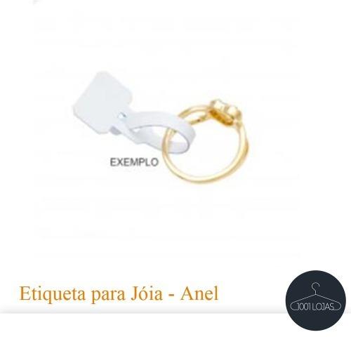 etiquetas p/ anel jóias bijuterias pct 1000 (ebq5)