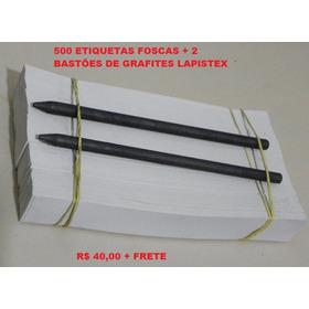 Etiquetas P/ Decalque 500 Unid 2,5cmx18,5cm - Super Promoção