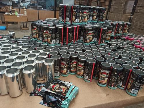 etiquetas & packaging de latas
