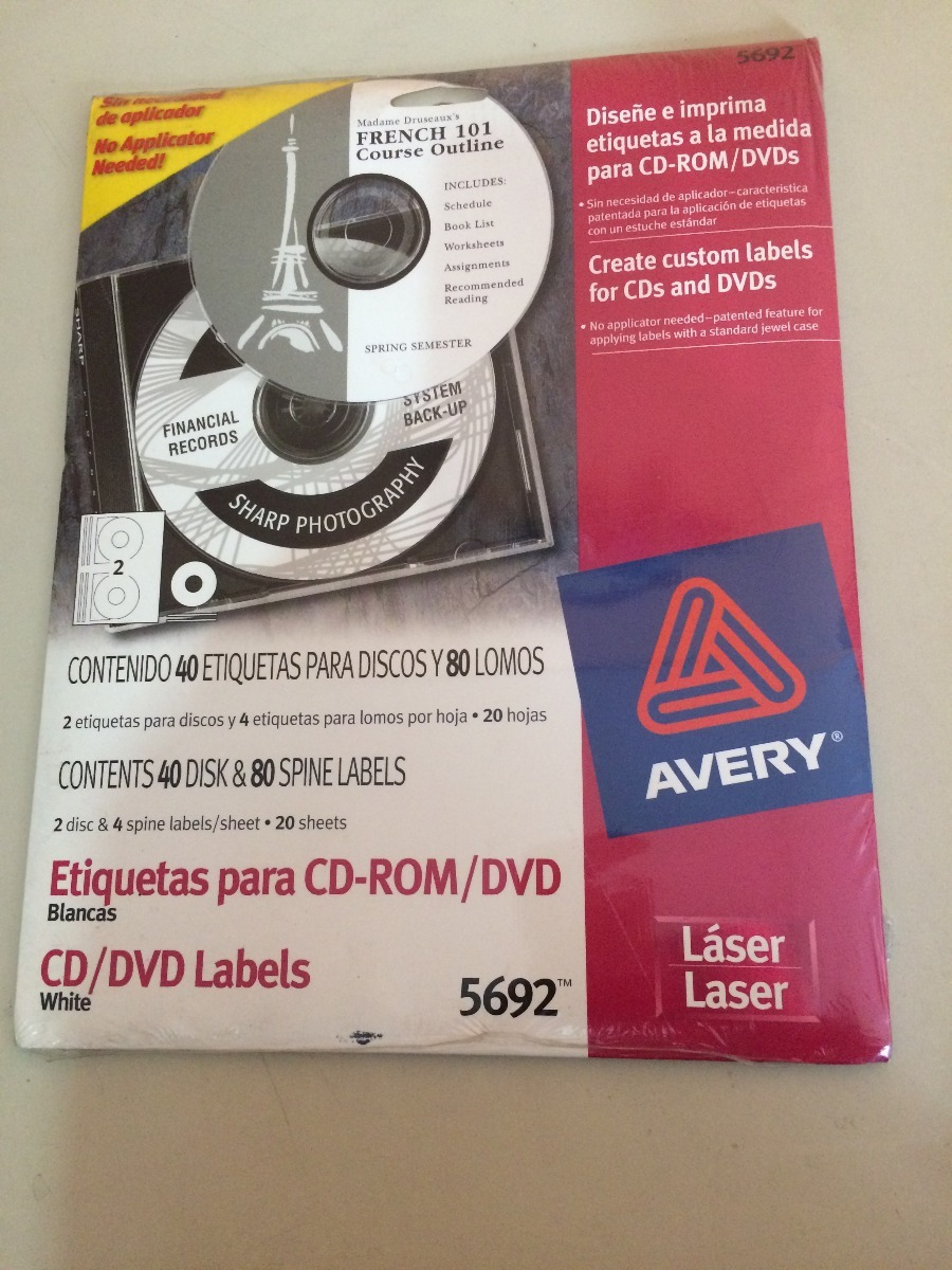 avery cd labels 5692 selo l ink co