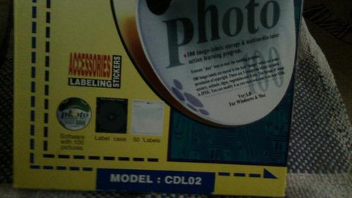 etiquetas para cds kit marca aidata