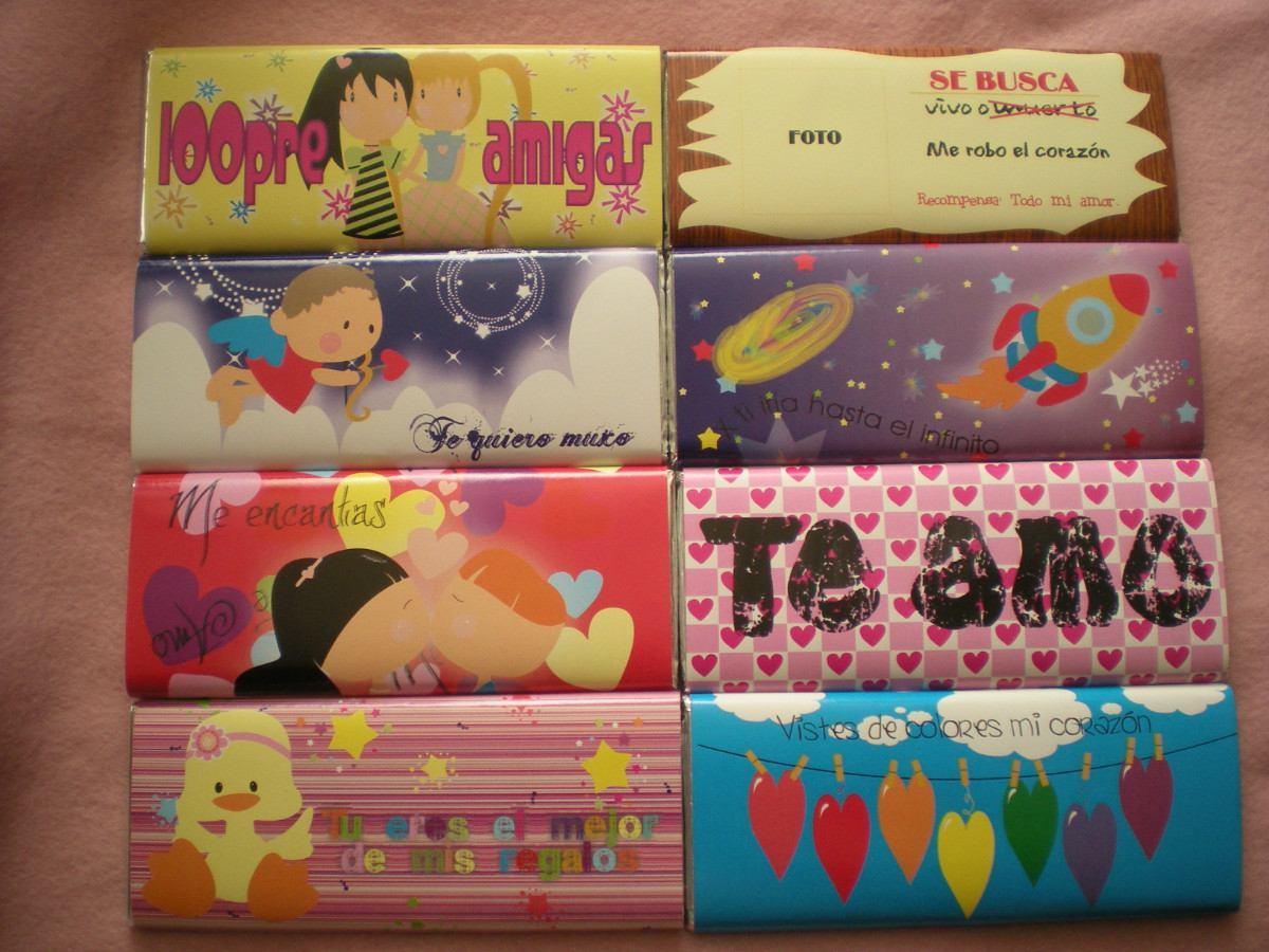 Etiquetas Para Chocolates Y Dulces Personalizados - $ 60.00 en ...