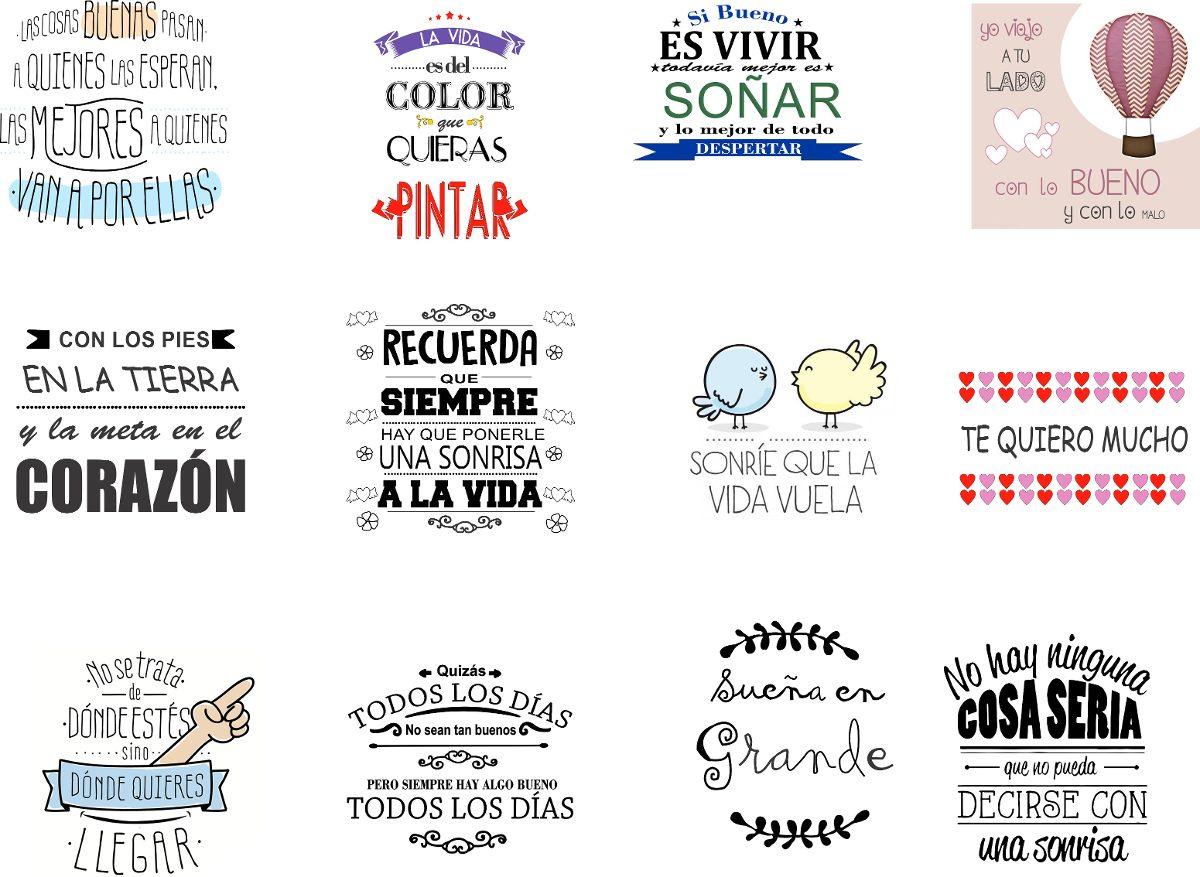 Etiquetas Para Frascos Frases Decoracion Wall Stickers