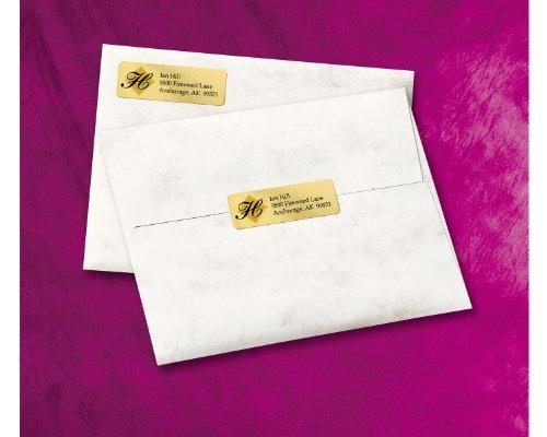 etiquetas para impresoras láser y de inyección de tintaav..