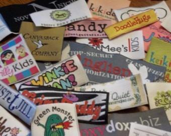 etiquetas para planchar! tu propia marca o otro diseño,