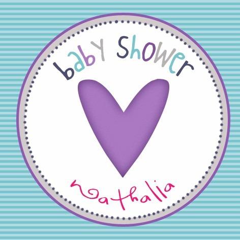 etiquetas personalizadas babyshower