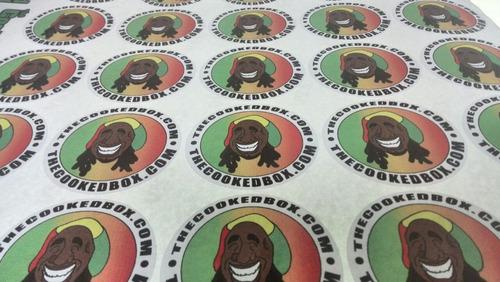 etiquetas personalizadas calcomania lavable vinil con corte