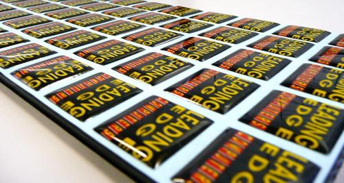 etiquetas resinadas personalizadas