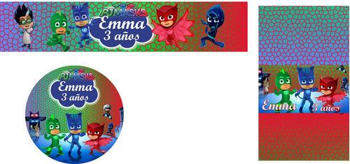 etiquetas/ sticker personalizados para golosinas, candy bar.