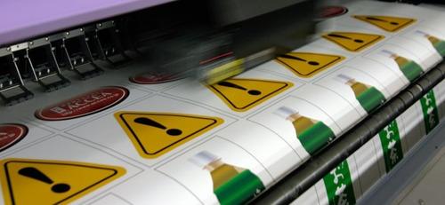 etiquetas stickers calcos impresas. vinilo. ruteo.