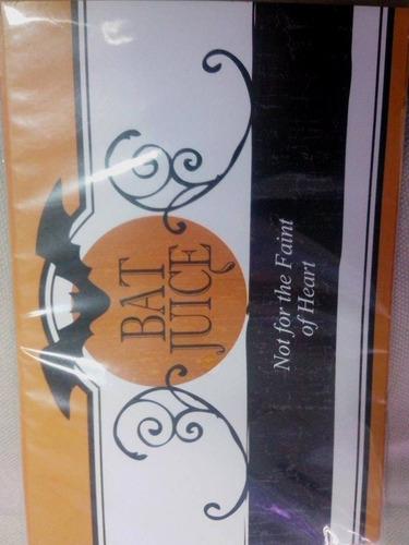 etiquetas tapa garrafas halloween