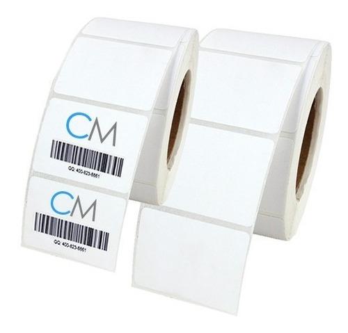 etiquetas termicas 102x60mm impresr zebra fabric toda medida