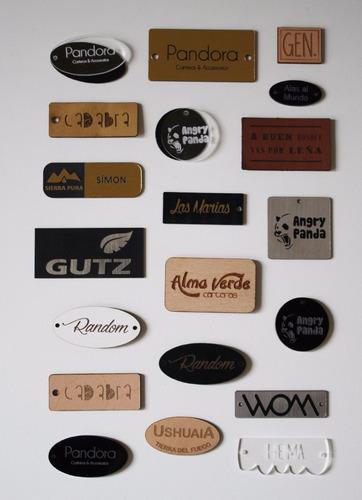 etiquetas y chapitas con tu marca! carteras,ropa, accesorios