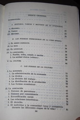 etnologia general , k. dittmer
