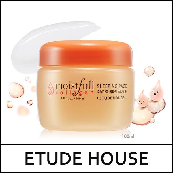 Etude House Moistfull Collagen Sleeping Pack 100ml - R$ 90,00 em Mercado Livre