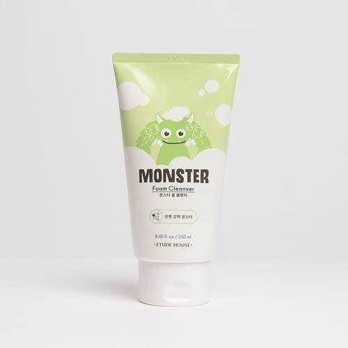 etude house monster foam cleanser
