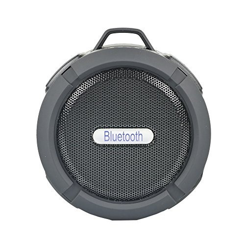 etvalley mini altavoz inalambrico bluetooth con gancho, vent