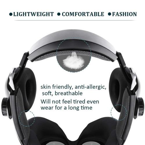 etvr mejorado realidad virtual auriculares vr gafas con cont