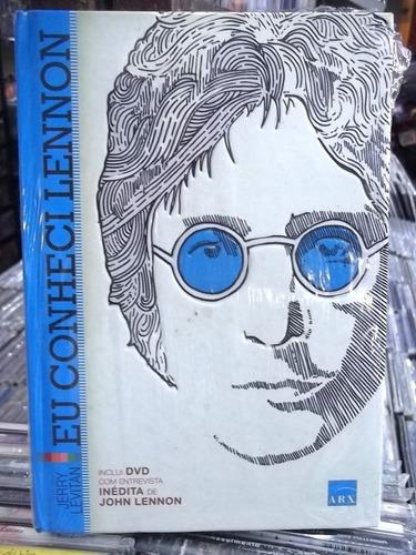 eu conheci lennon livro + dvd jerry levitan lacrado