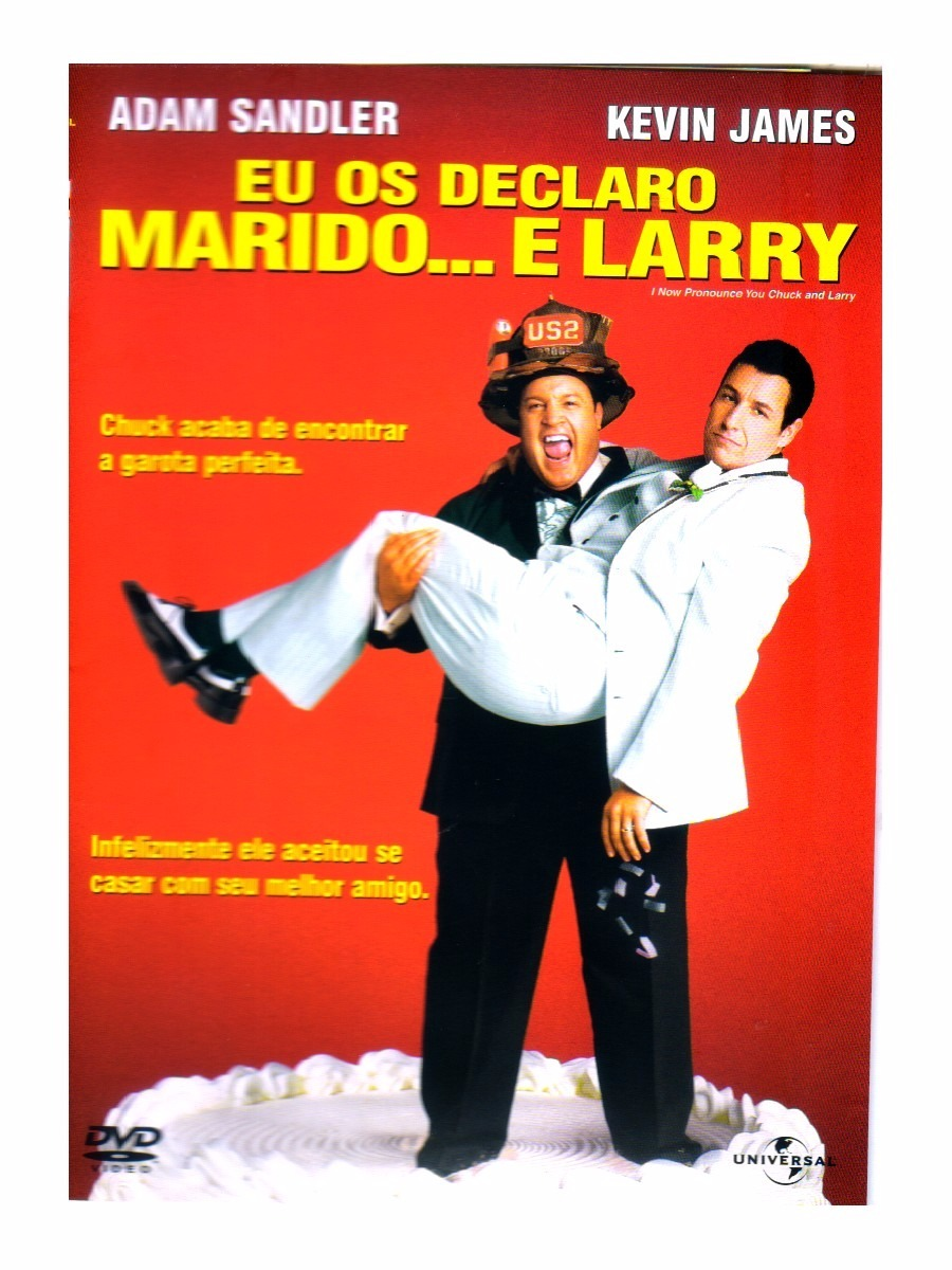 filme eu os declaro marido e larry dublado