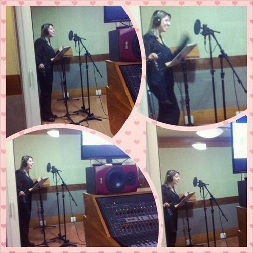 eu vou dublar, narrar ou cantar (dublagem, canto, narração)