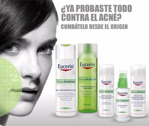 eucerin dermopurifyer gel limpiador facial 200ml