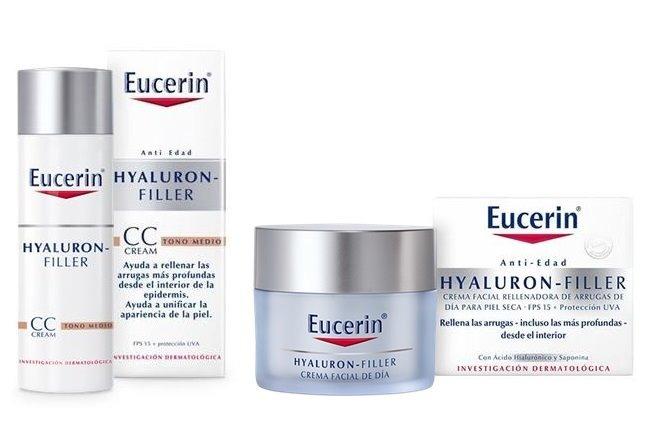 Eucerin Kit Hyaluron Filler Cc Cream Dia Crema Noche 1 259 00