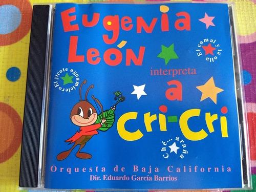 eugenia león cd interpreta a cri cri