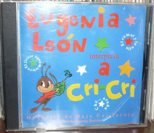 eugenia leon cd interpreta a cri cri