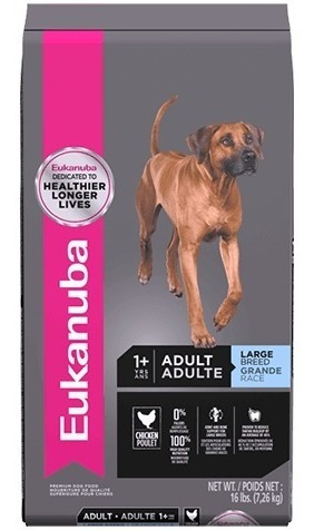 eukanuba adult large breed x 16lb (adulto raza grande)
