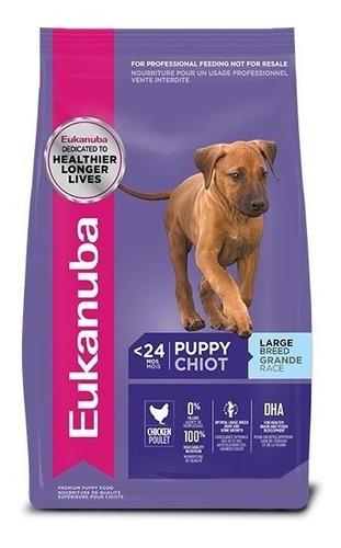 eukanuba puppy large breed para perro raza grande 20 kg