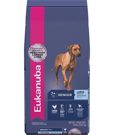 eukanuba senior large breed x 30lb (senior raza grande)
