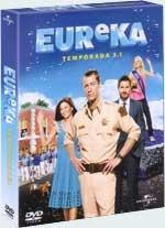 eureka - 3ª temporada - vol. 1  ( 2 dvds - 8 episódios)