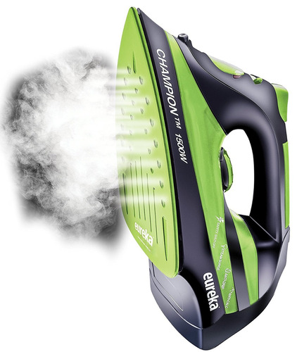 eureka champion super-hot 1500w plancha potente vapor