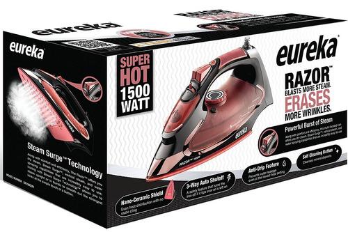 eureka razor vapor potente burst super-hot 1500w hierro