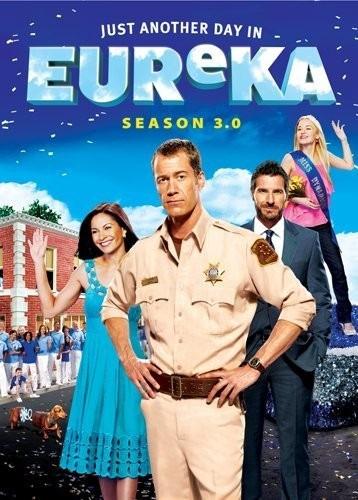 eureka temporada 3 .0 tres tercera importada dvd