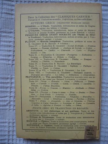 euripide - théatre d'euripide. tome quatrième