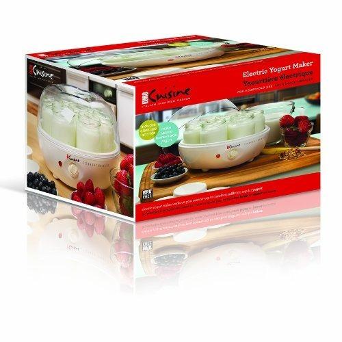 euro cuisine ym80 maquina para hacer yogurt yogurtera
