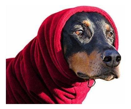 euro dog designs fleece snood size: l (18inch / 45cm) color: